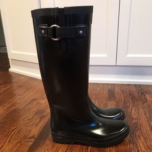 Helly Hansen Tall Rain Boots - size 8